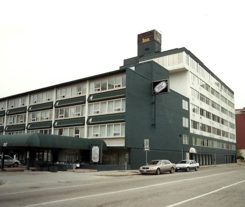 Winnipeg architecture foundation Civic centre motor inn