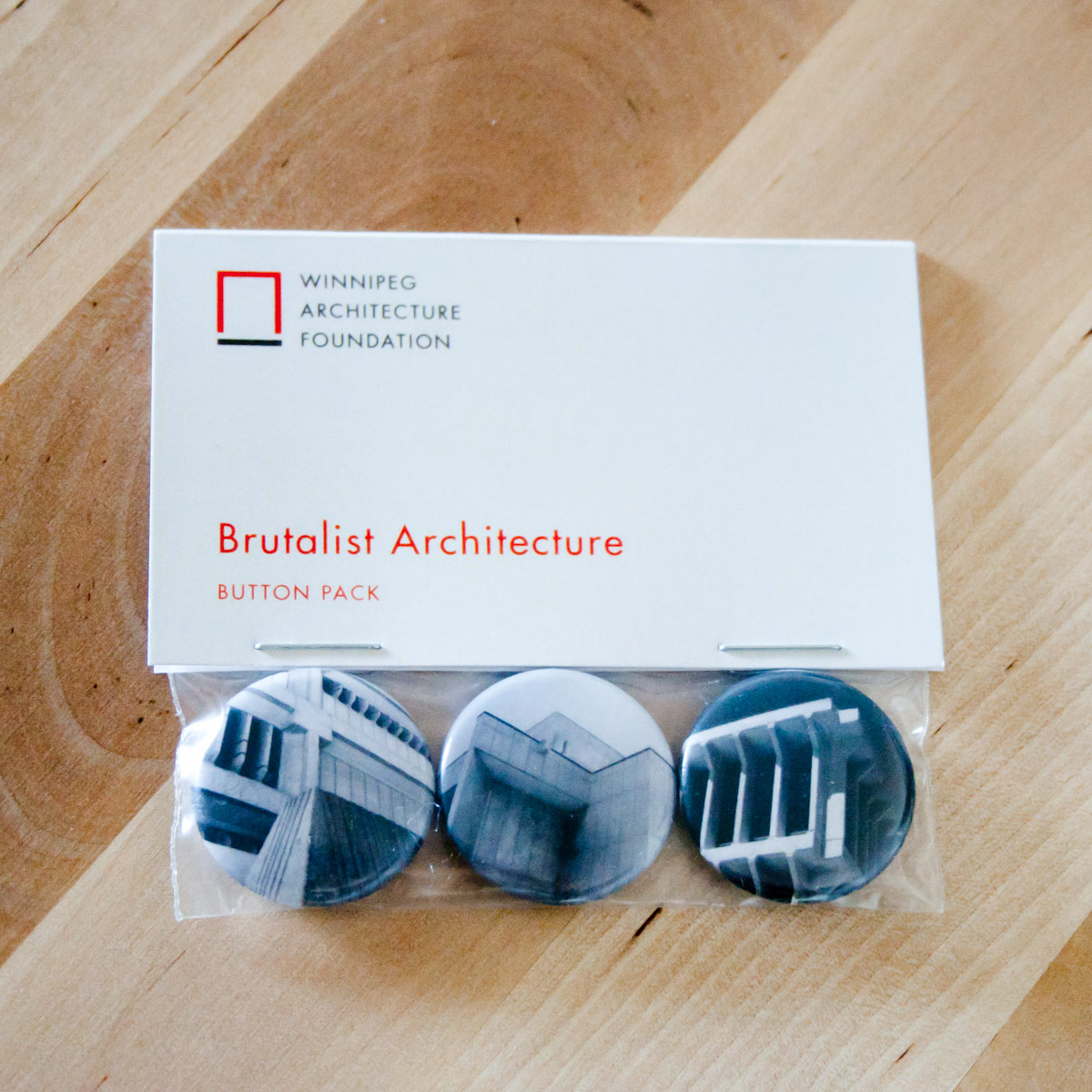 Brutalist Button Set
