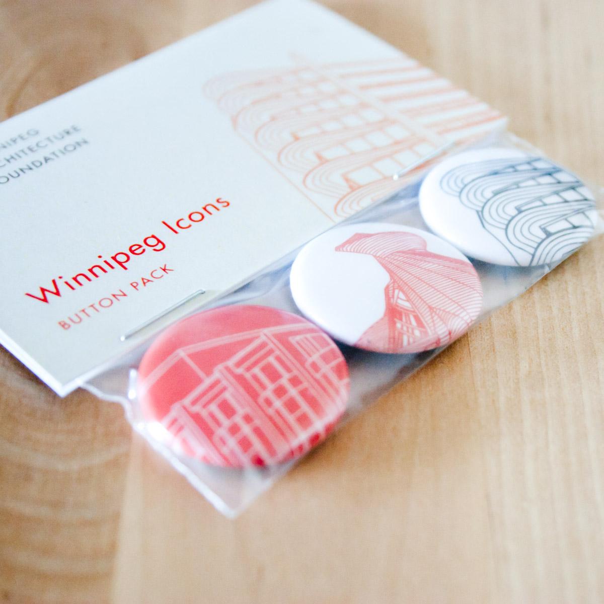 Winnipeg Icons Button Set