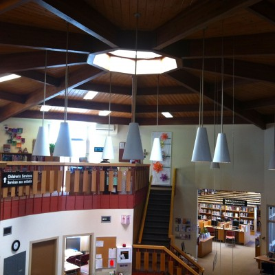 st. vital library interior