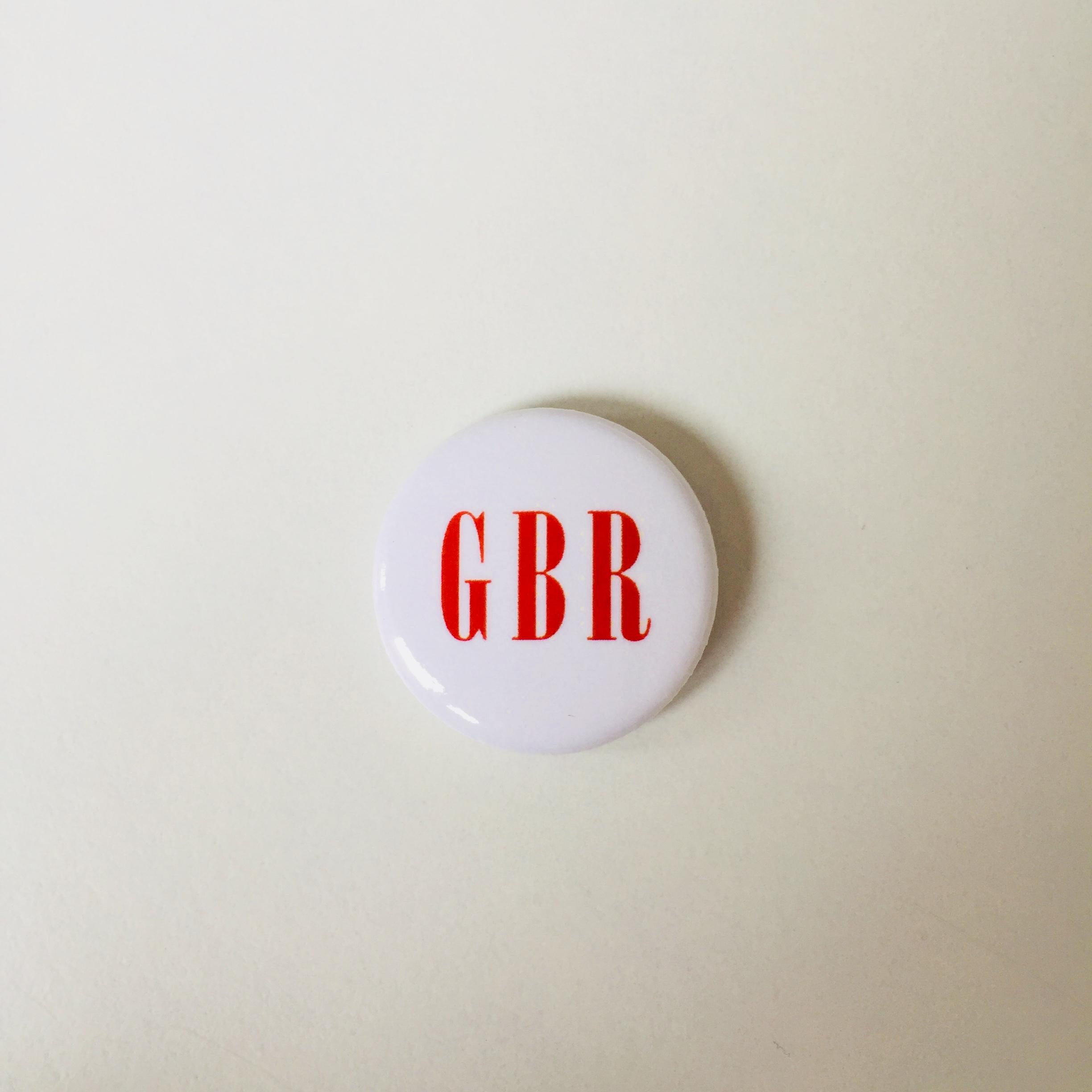 Red GBR Button