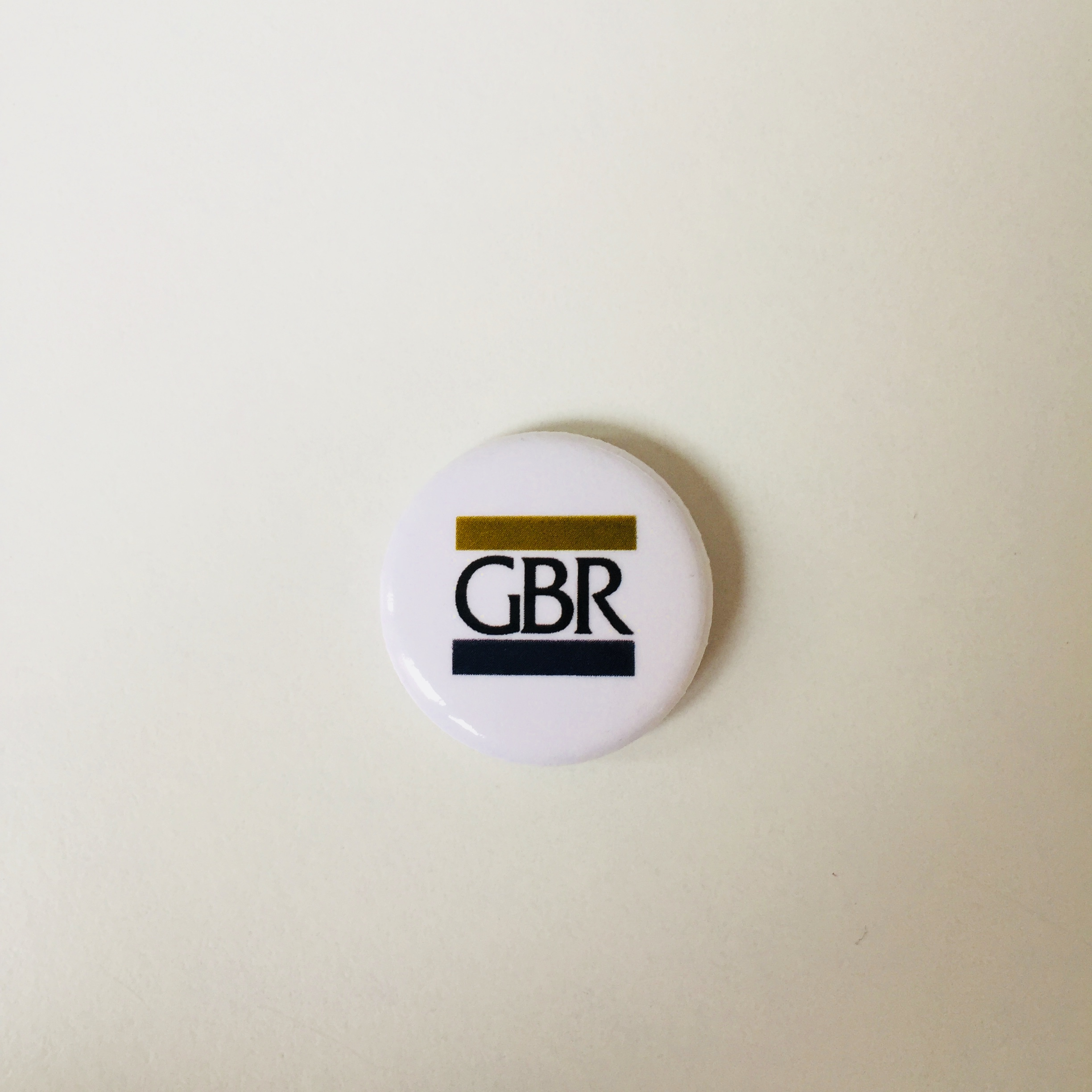Black GBR Button