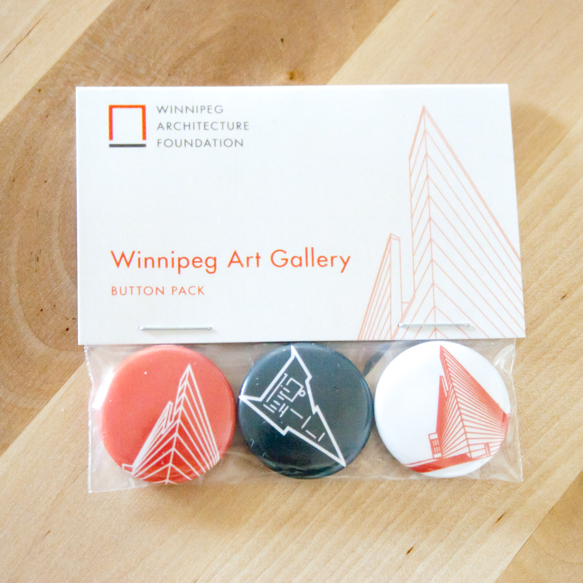 Winnipeg Art Gallery Button Set