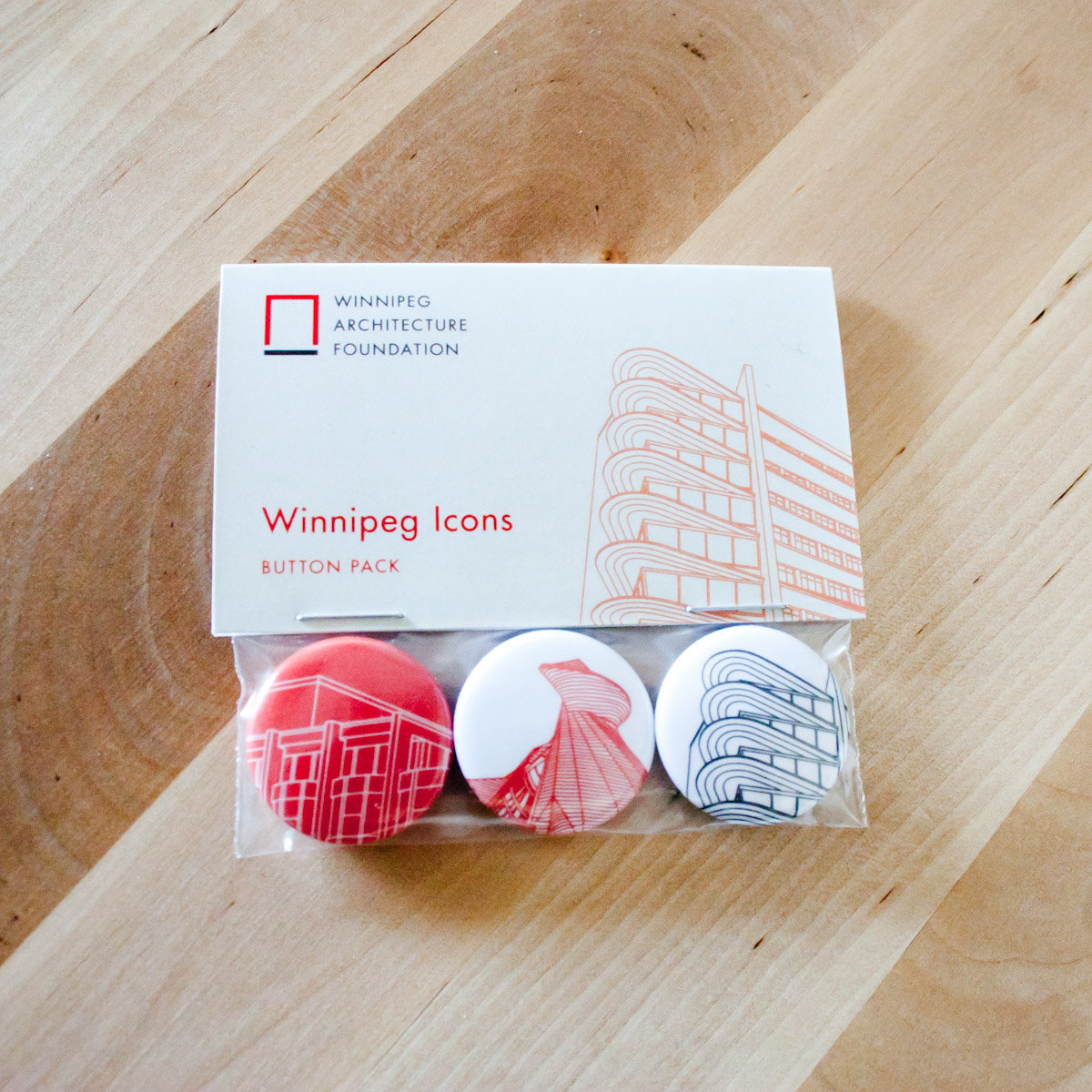 Winnipeg Icons Button Set