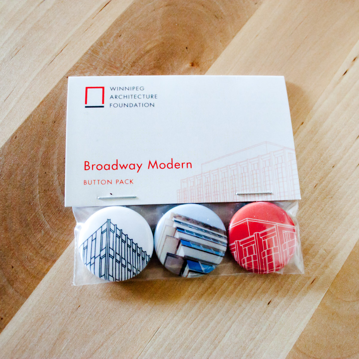 Broadway Modern Button Set