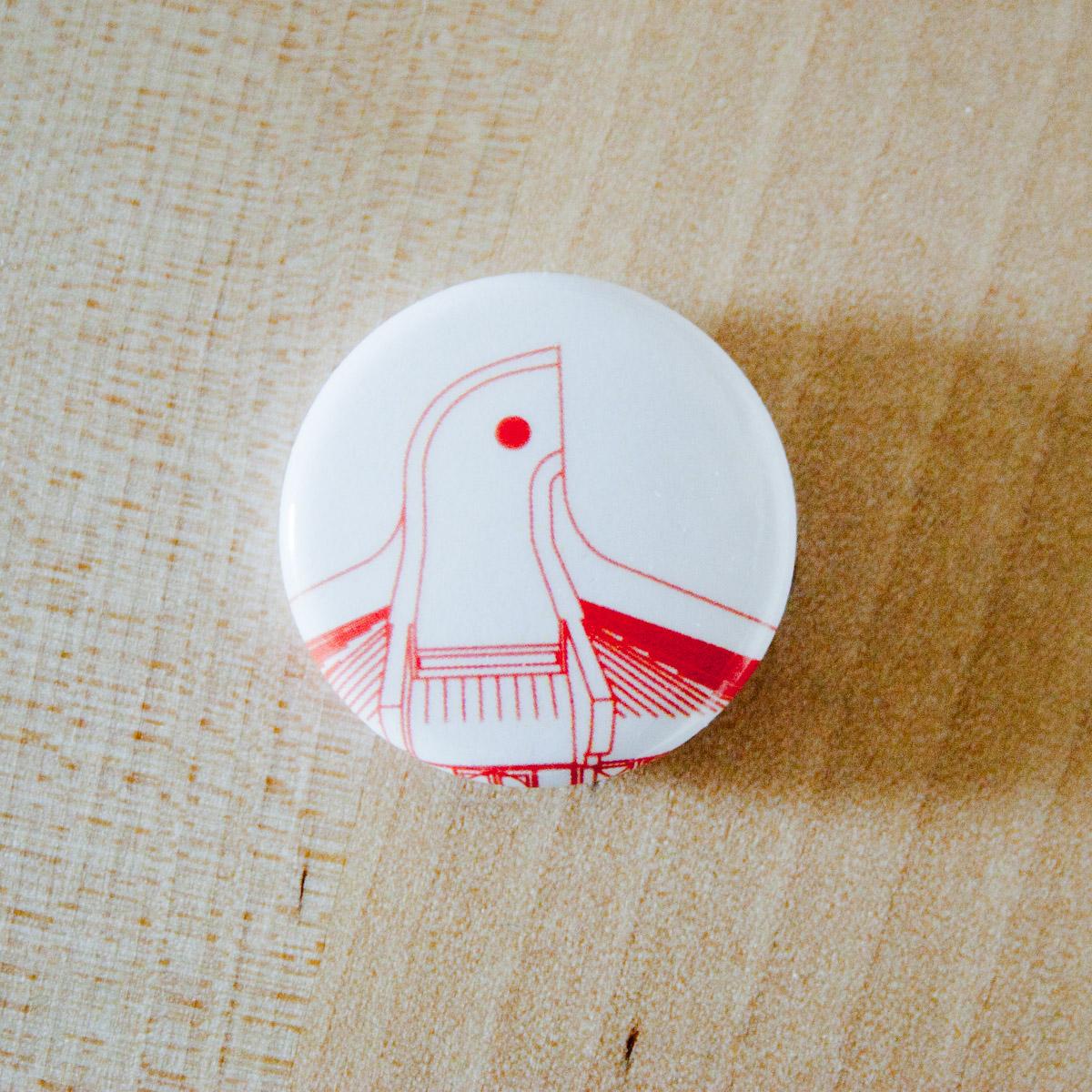 Thunderbird House Button