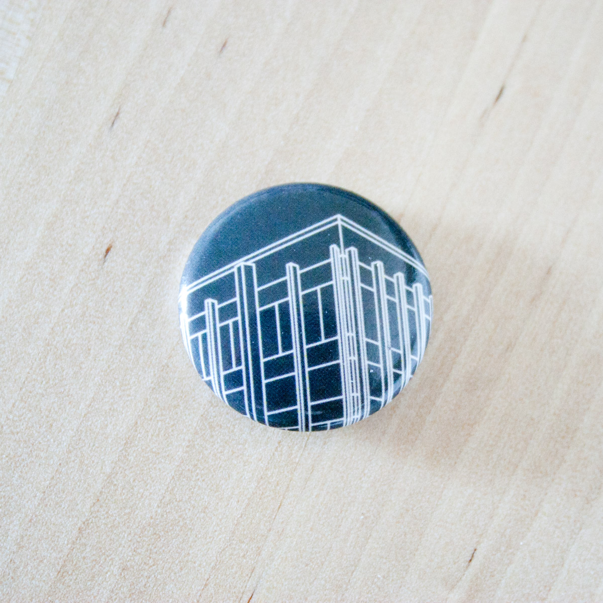John A Russell Building Button