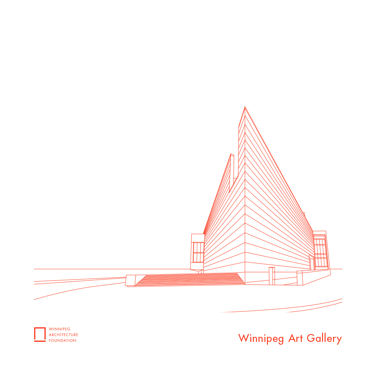 Winnipeg Art Gallery Tea Towel