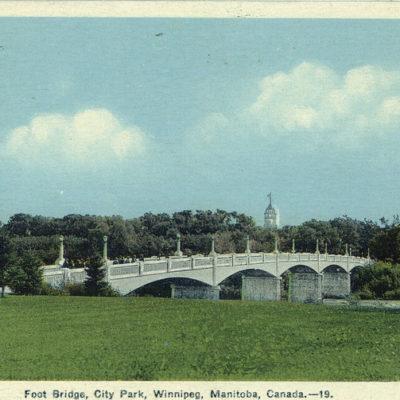 Assiniboine Park Footbridge